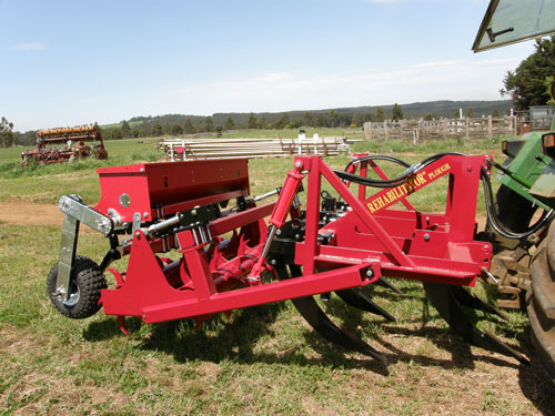 Rehabilitator with Rear Tine Coulters and Seed-Fix Adaptive